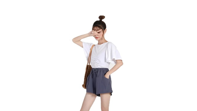 ?กางเกงขาสั้นผ้าลินิน ใส่สบาย น่ารัก สไตล์ญี่ปุ่น ??สินค้าถูก&คุณภาพดีจ้าา?จัดส่งทุกวันส่งไว?