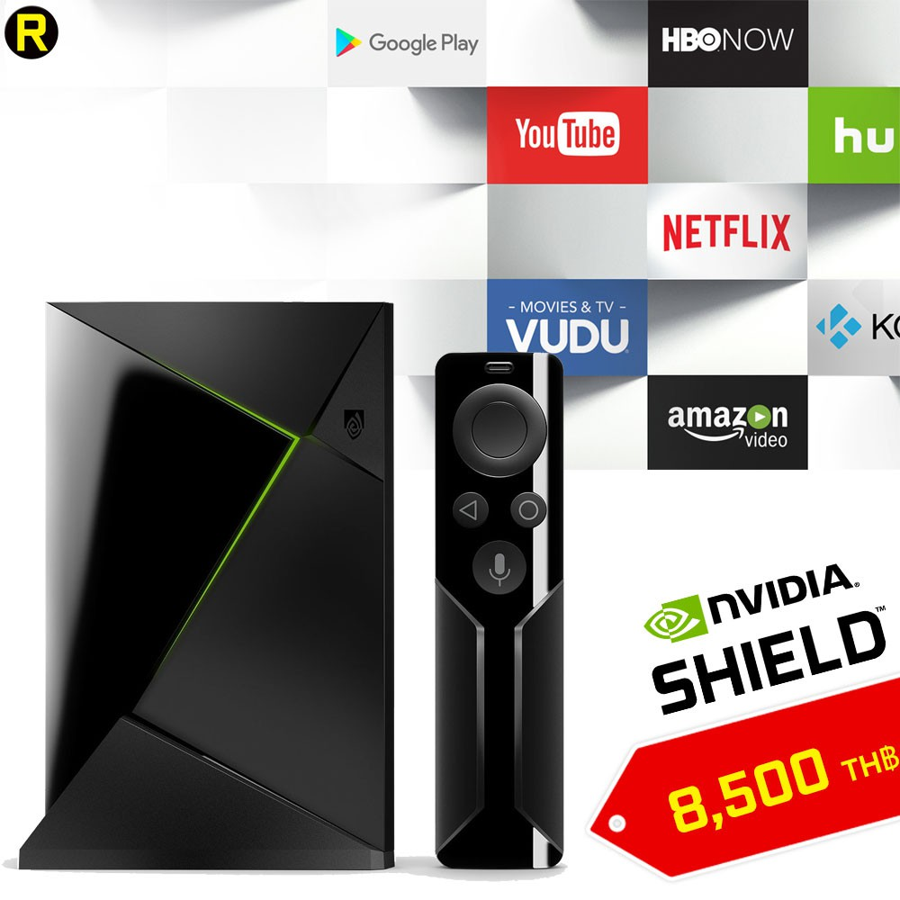 NVIDIA SHIELD TV | Streaming Media Player with Remote 3GB/16GB