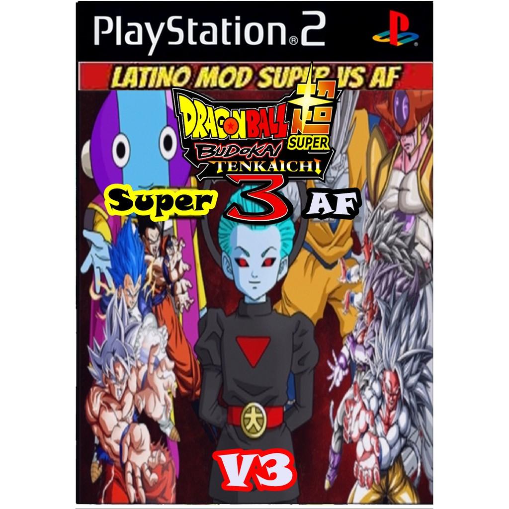 แผ่นเกมส์ Dragon Ball Z Super vs AF V3 เล่นกับเครื่องPS2