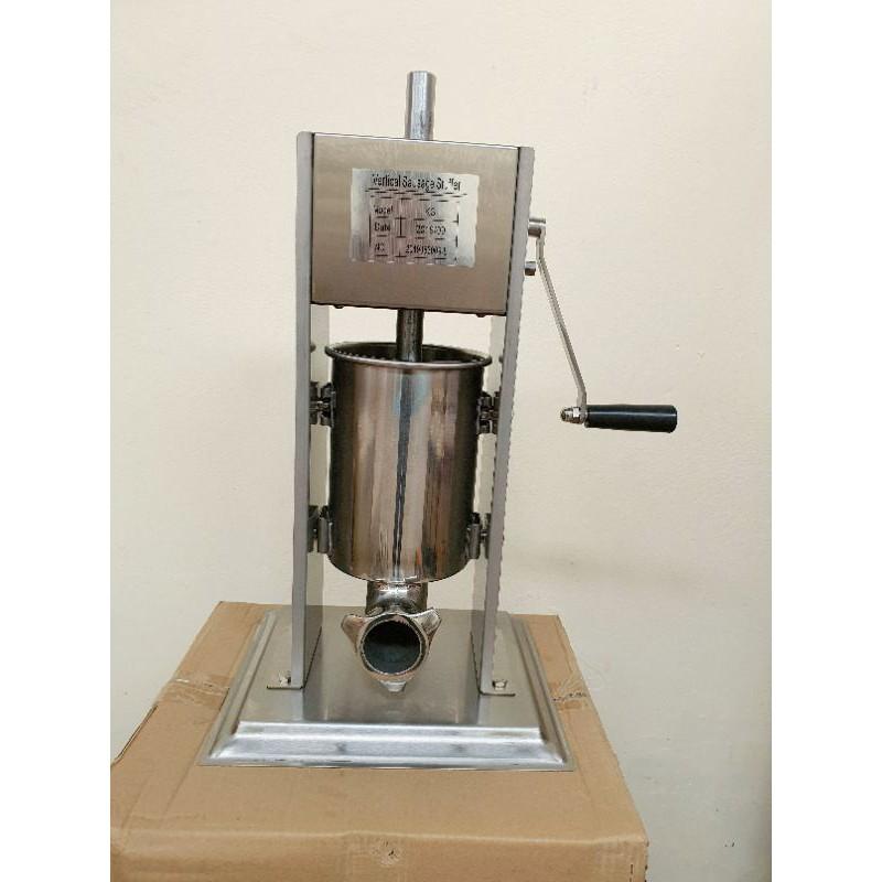 เครื่องทำไส้กรอก เครื่องอัดไส้กรอก เครื่องยัดไส้กรอก ขนาด 3 ลิตร