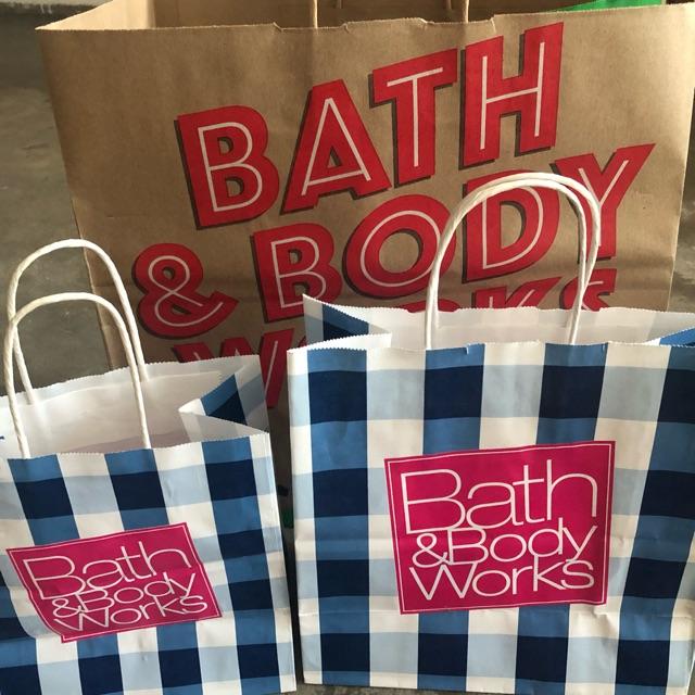 ถุงกระดาษ Bath & Body Work แท้ 💯 usa