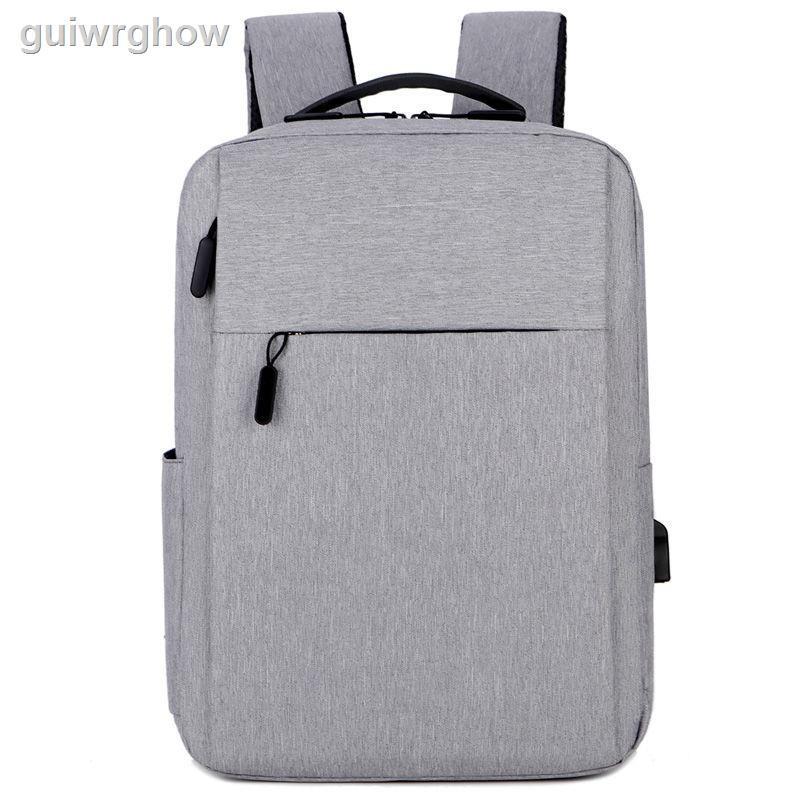 ┇❈℗กระเป๋าเป้แบบชาร์จใหม่ได้ขนาด 15 นิ้ว เพศผู้ และกระเป๋าเป้สะพายหลังแล็ปท็อปสำหรับสตรีขนาด 14 นิ้ว 15.6 กระเป๋าเดินทาง