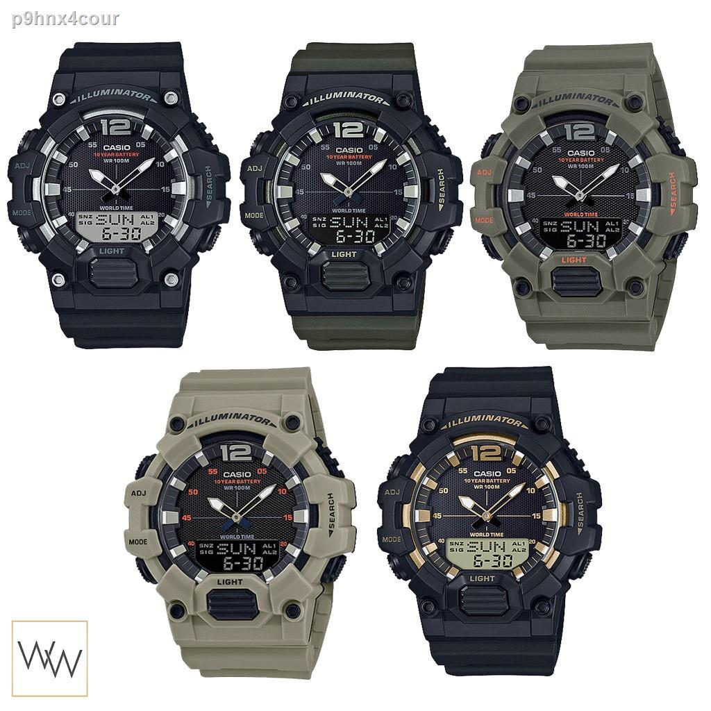 [ใส่โค้ดลดเพิ่ม 8%*] ของแท้ นาฬิกาข้อมือ Casio รุ่น HDC-700Watches & Glasses(