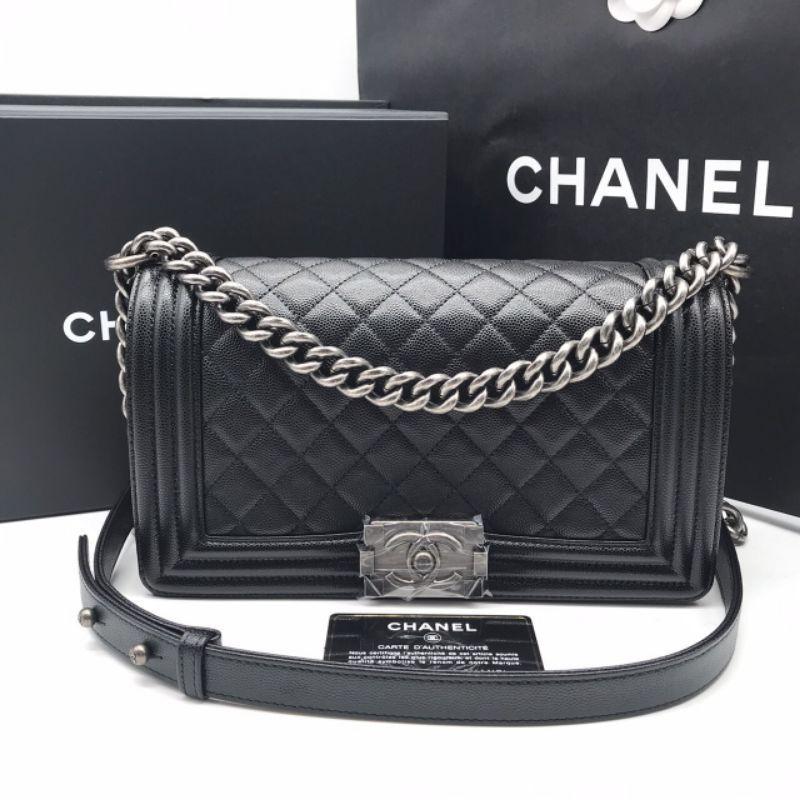 กระเป๋า Chanel Boy10 แท้ 💯 ส่งฟรีems