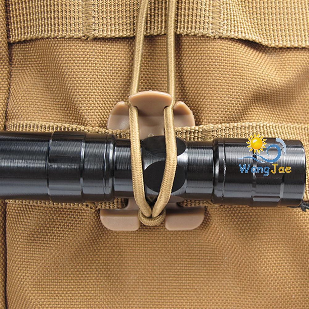 Wj Molle กระเป๋าเป้สะพายหลัง Edc สายเชือกยืดหยุ่นเหมาะกับการพกพาเดินทาง