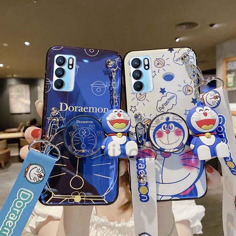 เคส OPPO Reno6 Z Reno 6 5G Cute Doraemon cover OPPO Reno 6Z 6 5G