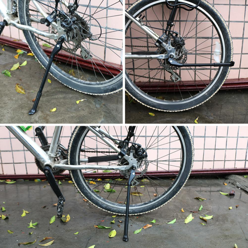 Quick Release Bicycle Kickstand Parking Rack Side Stand for 26//27.5//29in