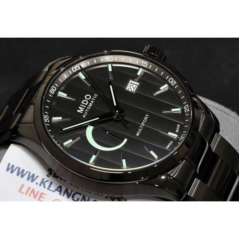 นาฬิกา Mido Multifort III Gent Power Reserve Automatic รุ่น M038.424.33.061.00 (ใหม่แท้ประกันศูนย์2ปี)