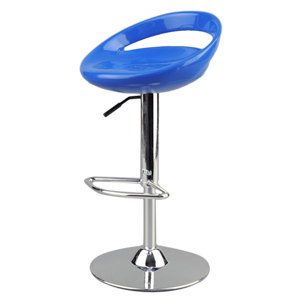 """1//6 Scale Pub Bar Round Swivel Stool Chair Furniture for 12/"""" Action Figure Toys"""