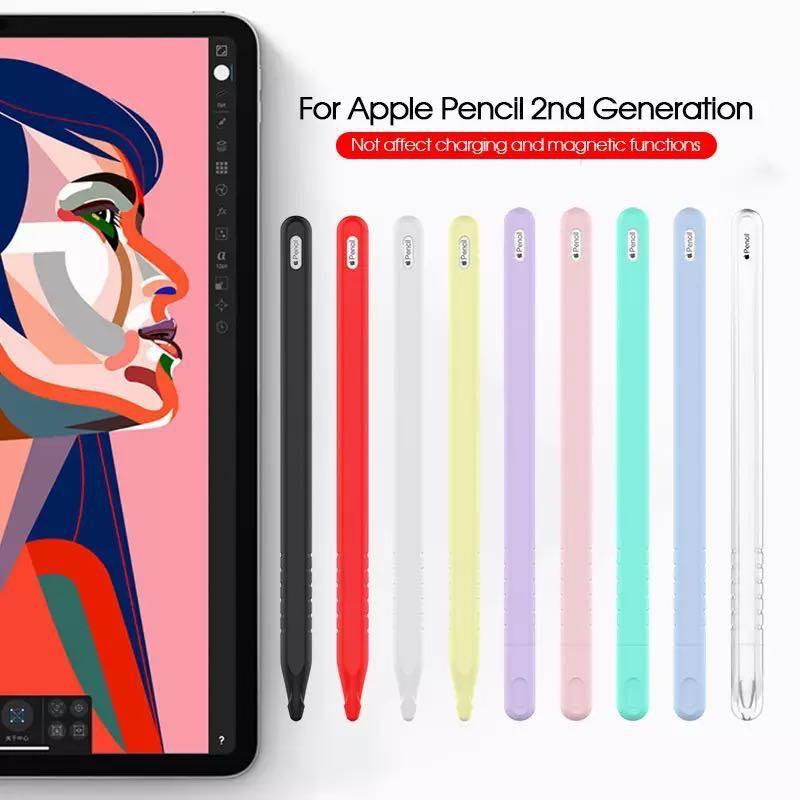 ❣▣💥พร้อมส่ง💥 Apple pencil Case 3in1 (Gen2) ปลอกปากกา apple pencil เคสซิลิโคน กันหาย กันกระแทก Apple Pencil Case เคส