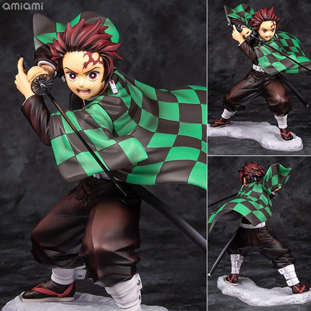 Figure ฟิกเกอร์ Model โมเดล Kimetsu no Yaiba Demon Slayer ดาบพิฆาตอสูร Kamado Tanjirou คามาโดะ ทันจิโร่ ชุดกิโมโน