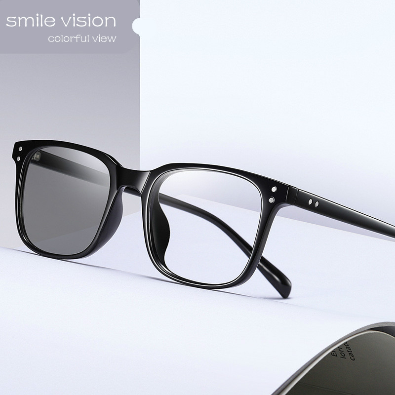 New Smart Photosensitive Anti Blue Light Glasses Photochromic Sunglasses
