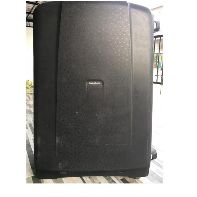 """กระเป๋าเดินทางล้อลาก Samsonite ไซร์ 32"""" สีดำ แข็งแรง ใช้น้อย"""