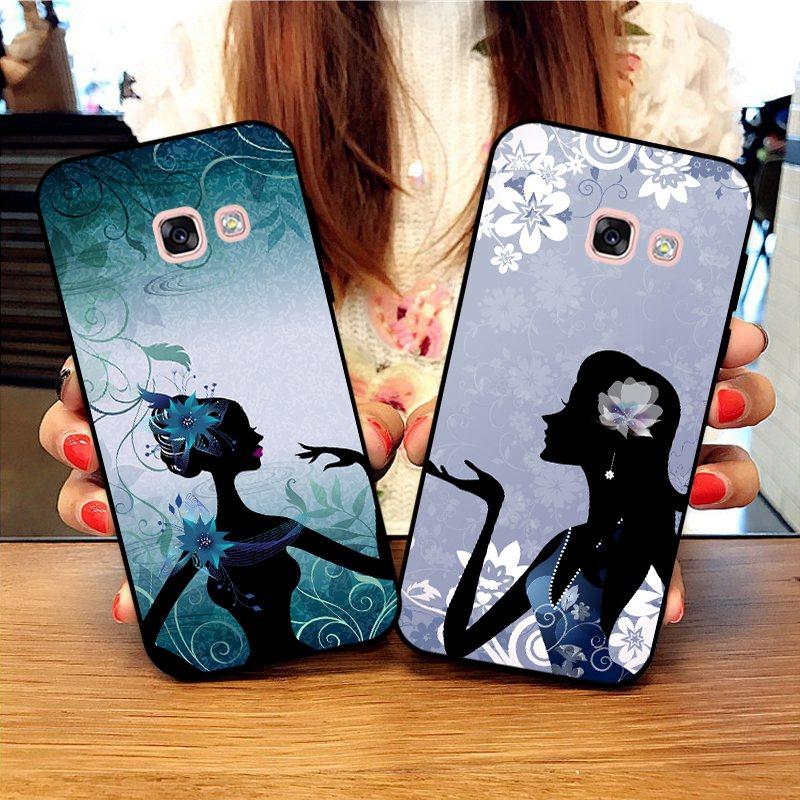 Momo-For  Samsung A3 A5 A6 A7 A8 A9 Pro Star Plus 2015 2016 2017 2018 HHC Pattern-6 Silicon Case Cover