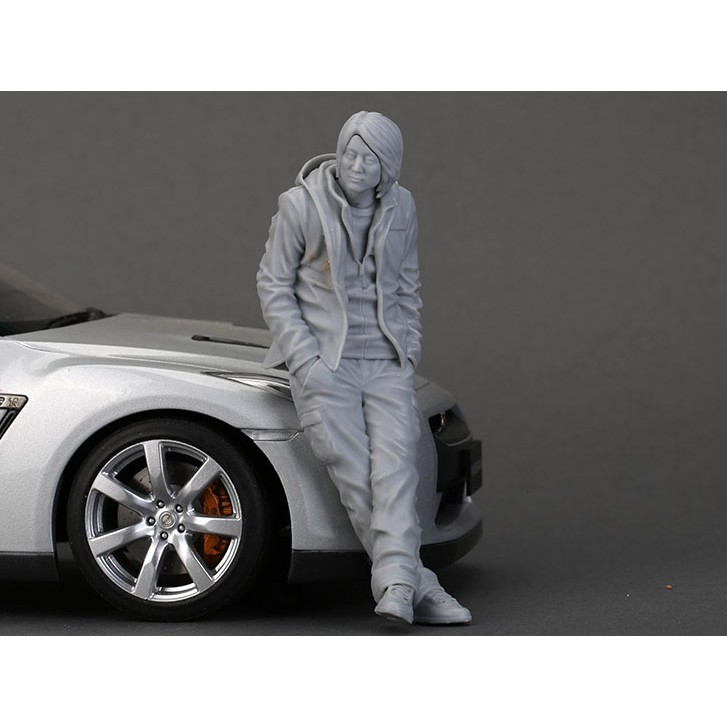 ❧Resin Figure Kit 1/18 Mr. Han Garage Model