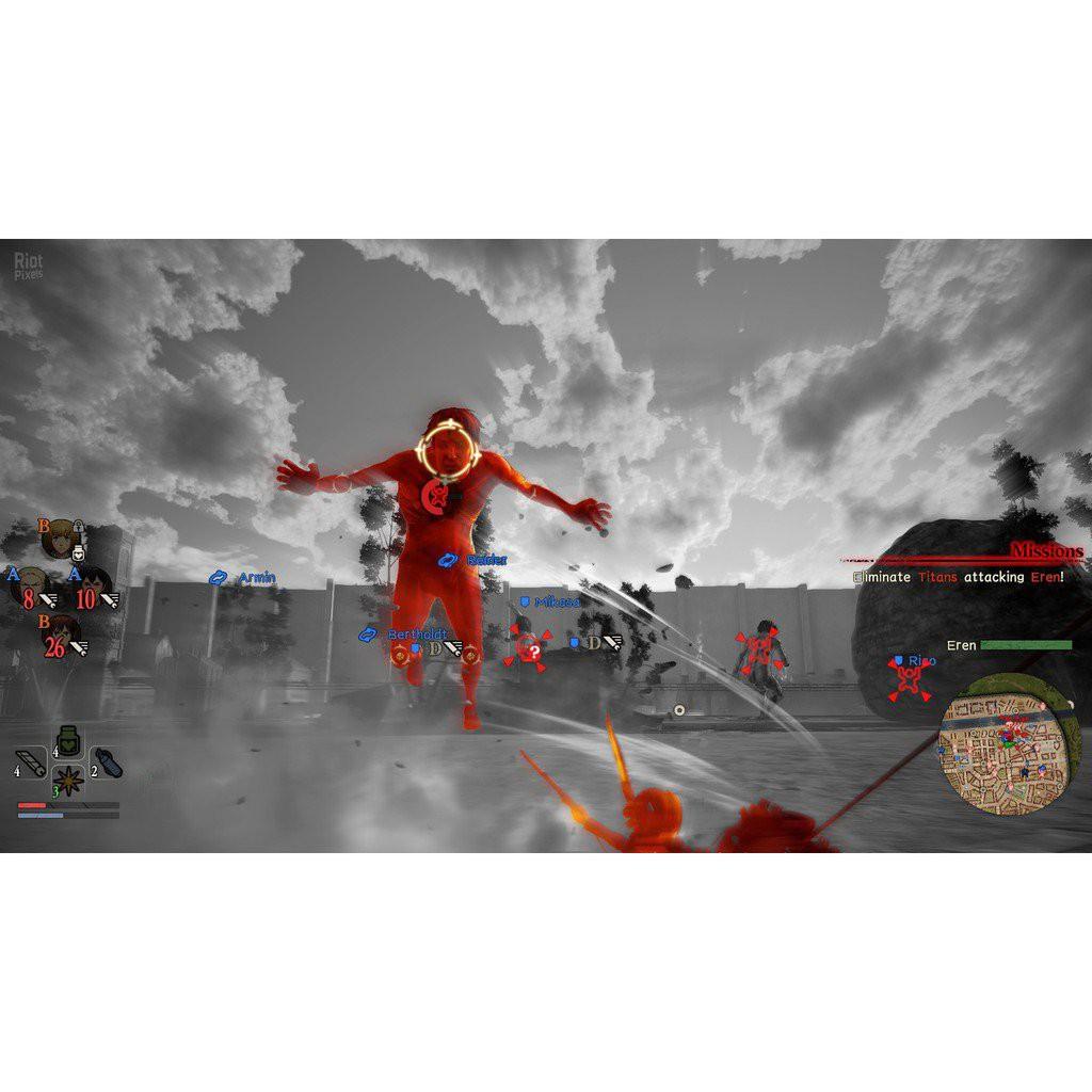 [PC GAME] แผ่นเกมส์ Attack on Titan 2: Final Battle PC lQys