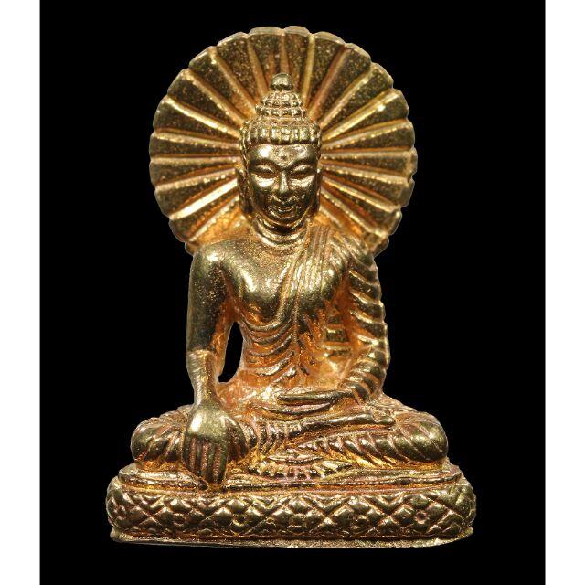 #pro299จากราคา599#รูปหล่อพระพุทธเมตตา เนื้อทองฝาบาตร(ทองทิพย์)  หลวงปู่บุญ วัดทุ่งเหียง ชลบุรี ขนาดห้อยคอ สวยๆครับ