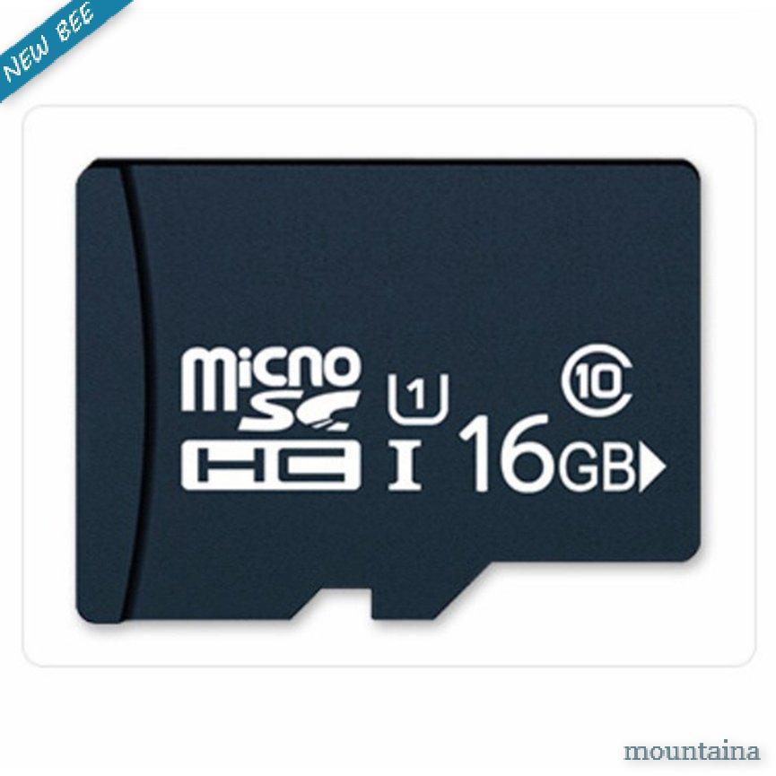 การ์ดหน่วยความจํา 16 G 32 G Tf Card Monitor