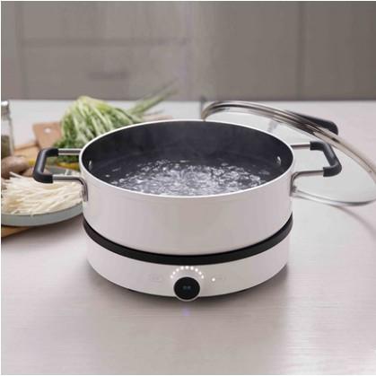 เตาแม่เหล็กไฟฟ้าในครัวเรือนสองความถี่ไฟอัจฉริยะควบคุมอุณหภูมิแม่นยำเตาแม่เหล็กไฟฟ้า