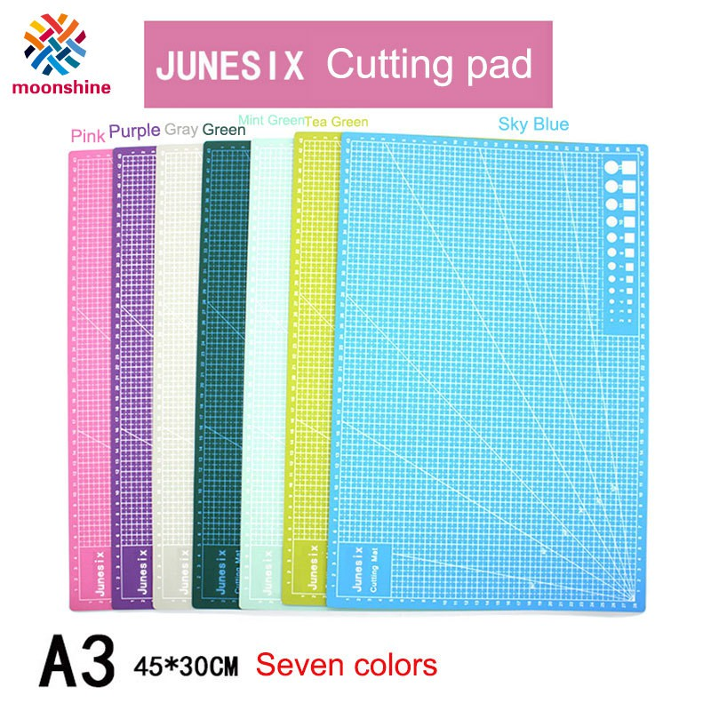 30*22cm A4 Self Healing Cutting Mat Craft Quilting Grid Lines Printed Board ~