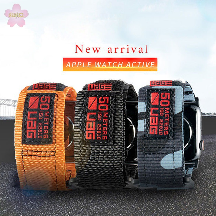Apple Watch Strap 38/40mm 42/44mm UAG Weave Nylon Fabric for Apple Watch Series 5/4/3/2/1
