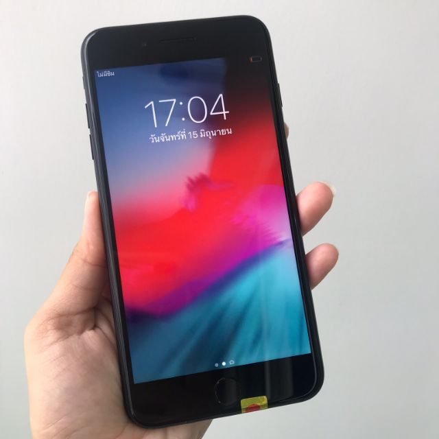 มือถือมือสองiPhone 7 plus สีดำด้าน 32GB Apple iphone7 plus 128G สีดำด้าน สภาพสวย Model TH ใช้งานปกติ อายุการใช้งานน้อยมา