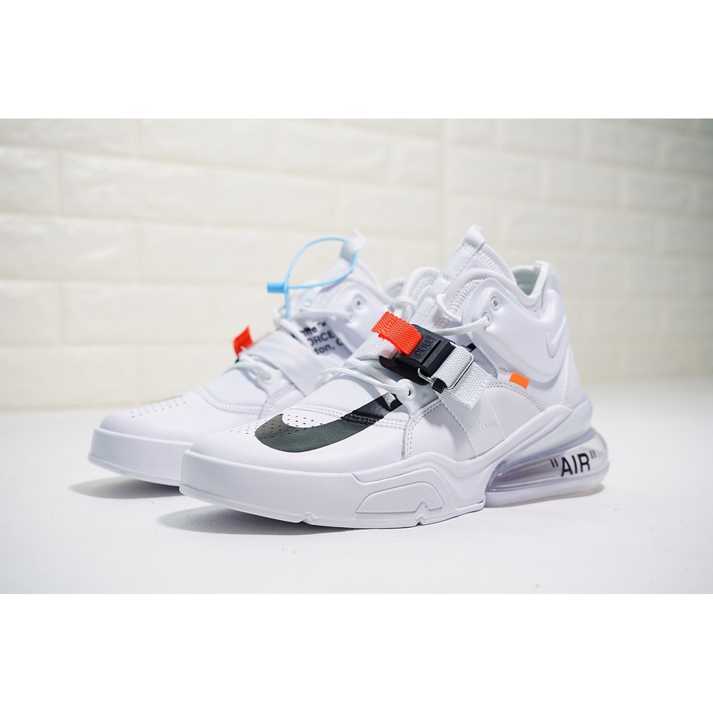 quality design online retailer free shipping รองเท้าผ้าใบกีฬา Offwhite x Air Jordan 1 x Nike Air Force 270 Air Force  midsole