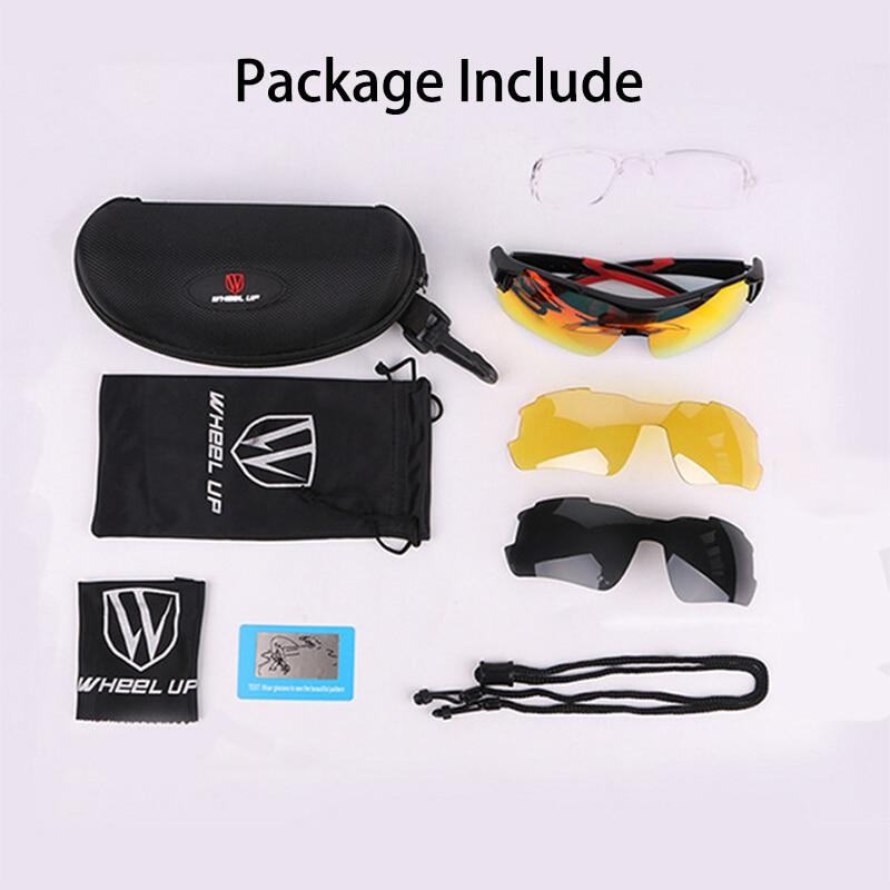 Polarized Cycling Glasses Photochromic UV400 Outdoor Sport Bicycle Sunglasses Men Women Moutain Bike Eyewear Myopia Fram