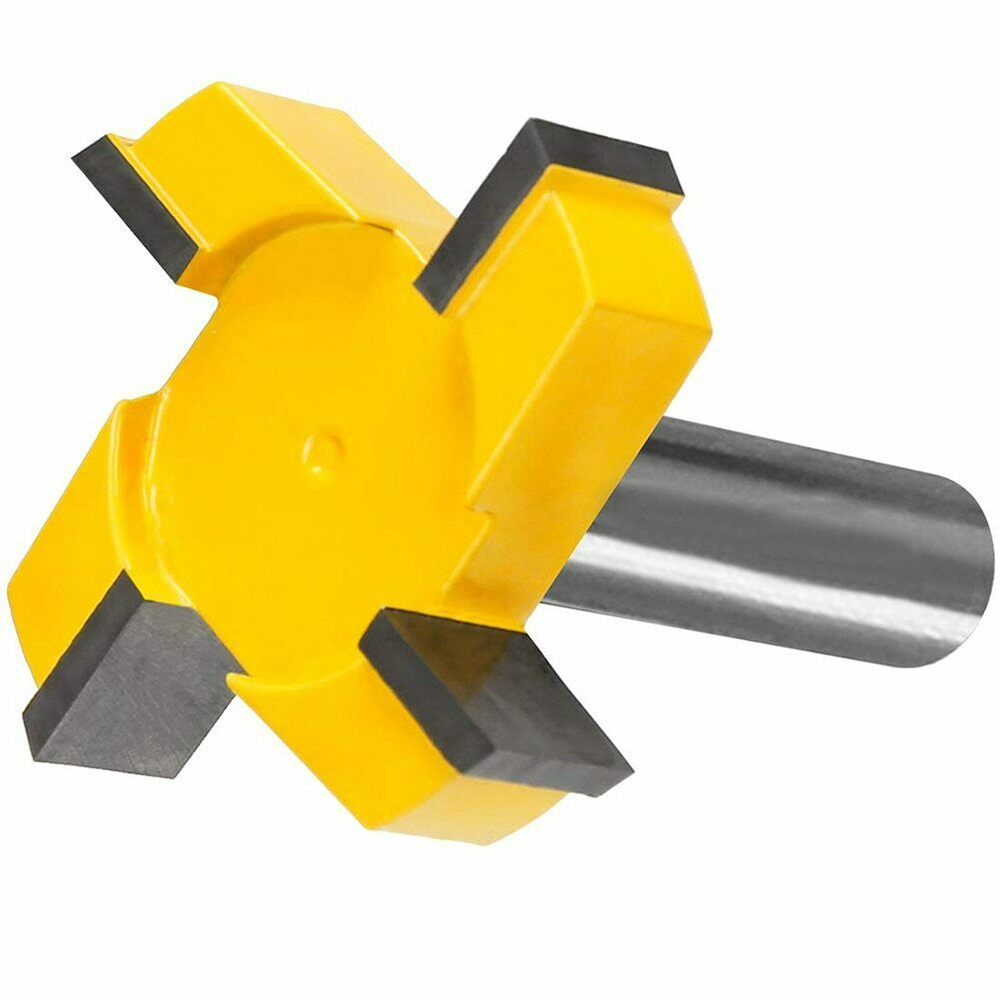 """CNC Spoilboard Surfacing Router Bits 1//2/"""" Shank Carbide Tipped Woodworking Tool"""