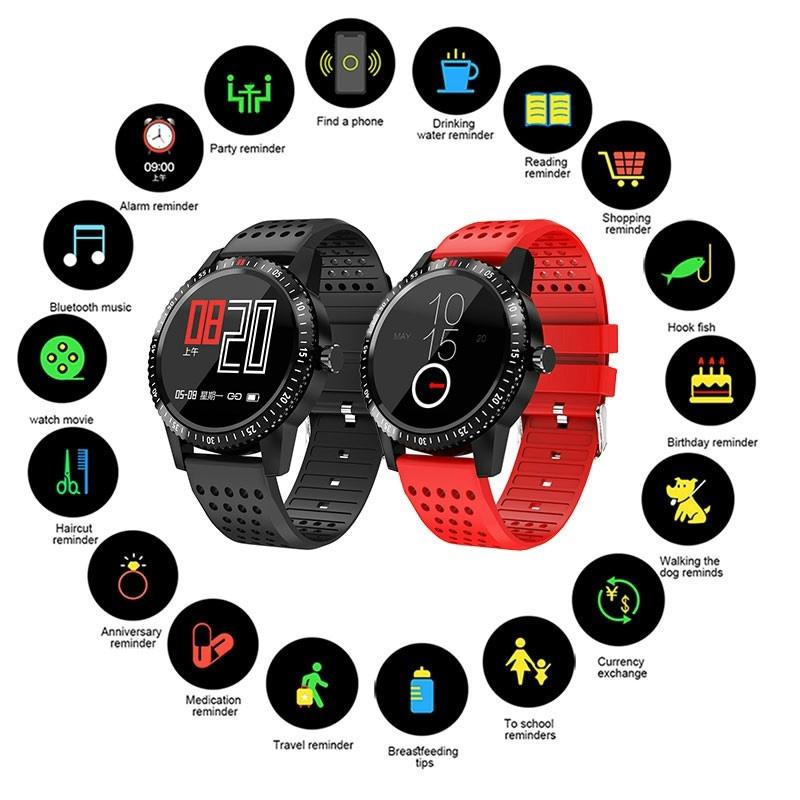 นาฬิกาข้อมือ Smart Watch IP 67 กันน้ำสำหรับ Androi