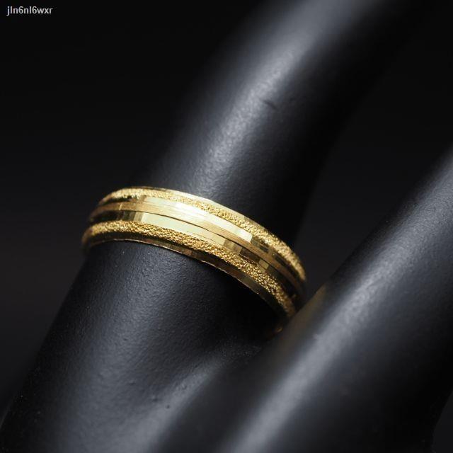 ราคาต่ำสุด◇❀☑3,999฿|แหวนทองเยาวราช|ครึ่งสลึง1.9กรัม96.5%|ขายได้จำนำได้