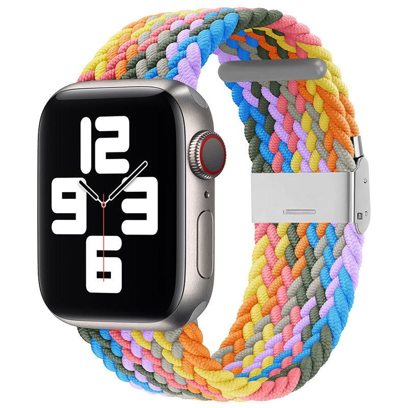 applewatch สาย บังคับapplewatchสายiwatch65432ไนลอนทอSEแอปเปิ้ลแอปเปิ้ลสายนาฬิกานาฬิกา44/40กีฬา