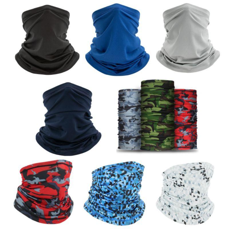 ผ้าบัฟกันฝุ่นกัน UV ผ้าบัฟปิดจมูก ผ้าพันคอเนื้อผ้าลื่น