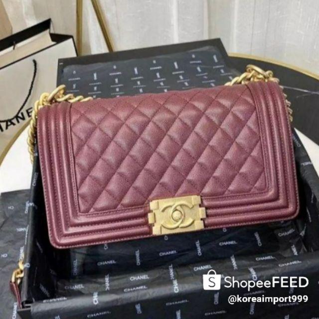 Chanel Boy Calfskin Medium Bag