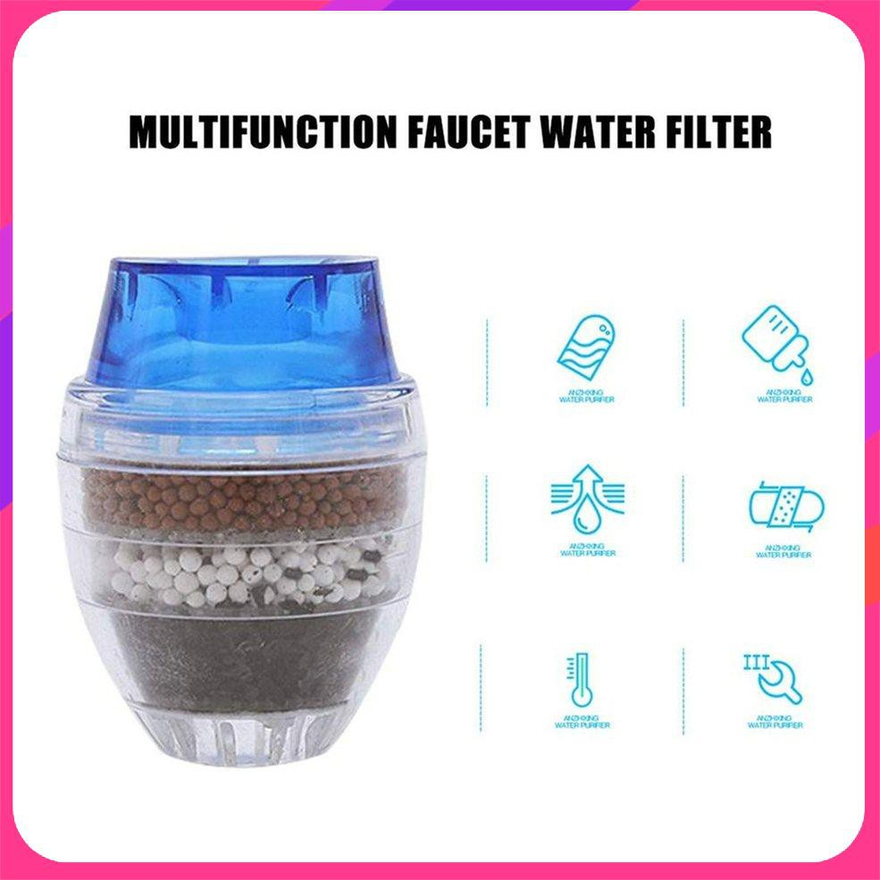 Faucet Water Filter Purifier Kitchen Faucet Filtration Activated Carbon Removes Heavy Metal Thinner Water Softener