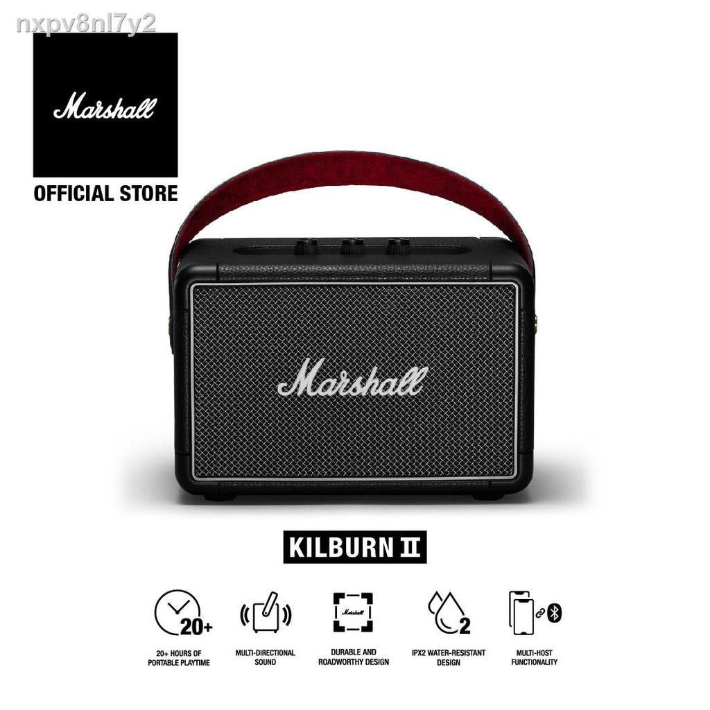 🔥รุ่นขายดี🔥ขายเฉพาะจุด🔥✒ลำโพงบลูทู ธ Marshall Kilburn II Bluetooth สีดำ - ชั้น 1 ปี + ส่งฟรีทั่วไทย (ลำโพงบลูทู , ลำ