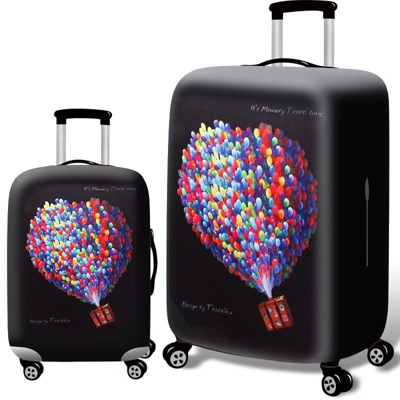 【น่ารัก/แฟชั่น】 ผ้าคลุมกระเป๋าเดินทาง 18-32 นิ้ว อุปกรณ์เสริมกระเป๋าเดินทาง