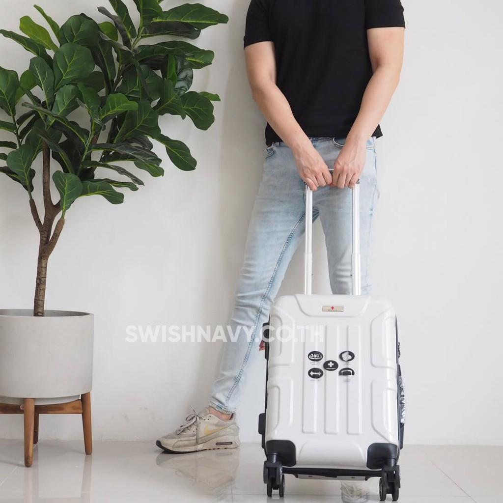[รวมรุ่น18 นิ้ว] กระเป๋าเดินทาง 18 นิ้ว swishnavy  หิ้วขึ้นเครื่อง ได้ทุกสายการบิน กระเป๋าเดินทางล้อลาก