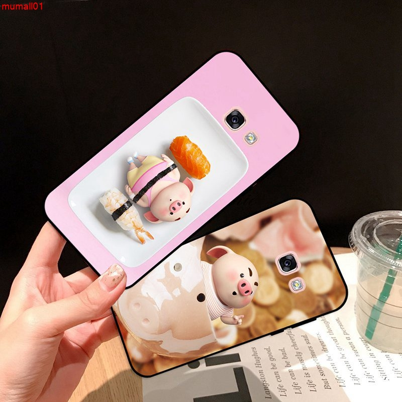 Samsung A3 A5 A6 A7 A8 A9 Pro Star Plus 2015 2016 2017 2018 HZXP Pattern-3 Silicon Case Cover