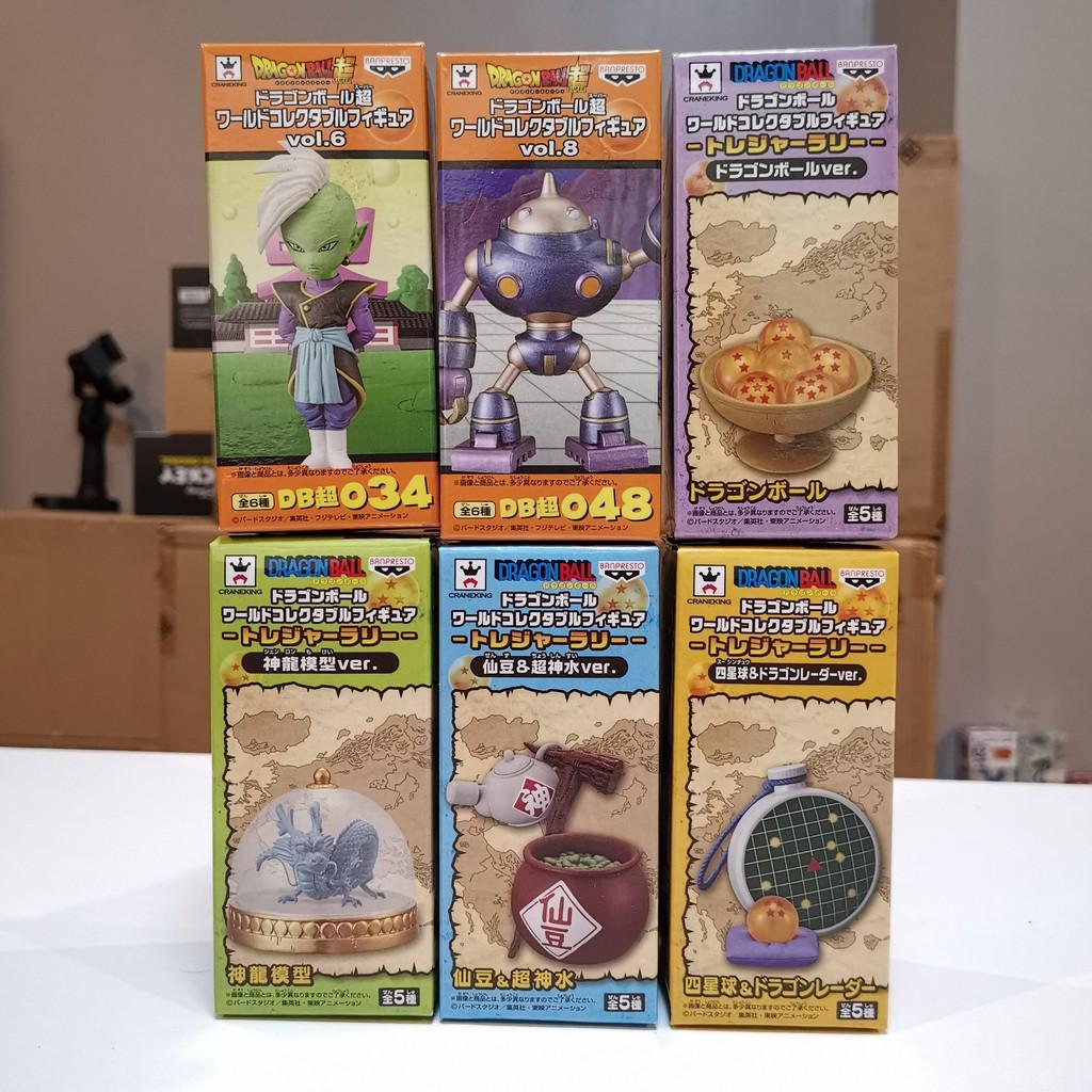 +++ ขาย Banpresto WCF World Collectable Figure Dragonball Super Treasure Rally ของใหม่ ของแท้ ไม่แกะ พร้อมส่ง +++
