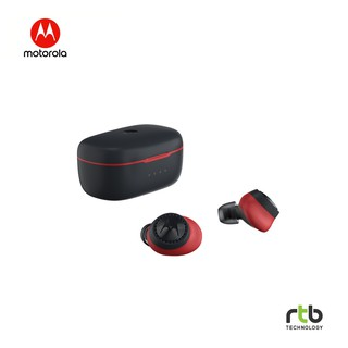 Motorola Vervebuds 200 True Wireless Sport Earbuds With Neckstrap - Red