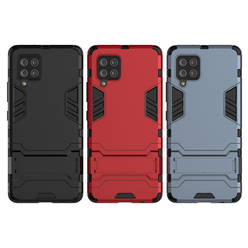 Ready เคสโทรศัพท์ Samsung Galaxy A42 5G Phone Case Armor Hard Protective Shockproof Cover Case for SamsungA42 GalaxyA42