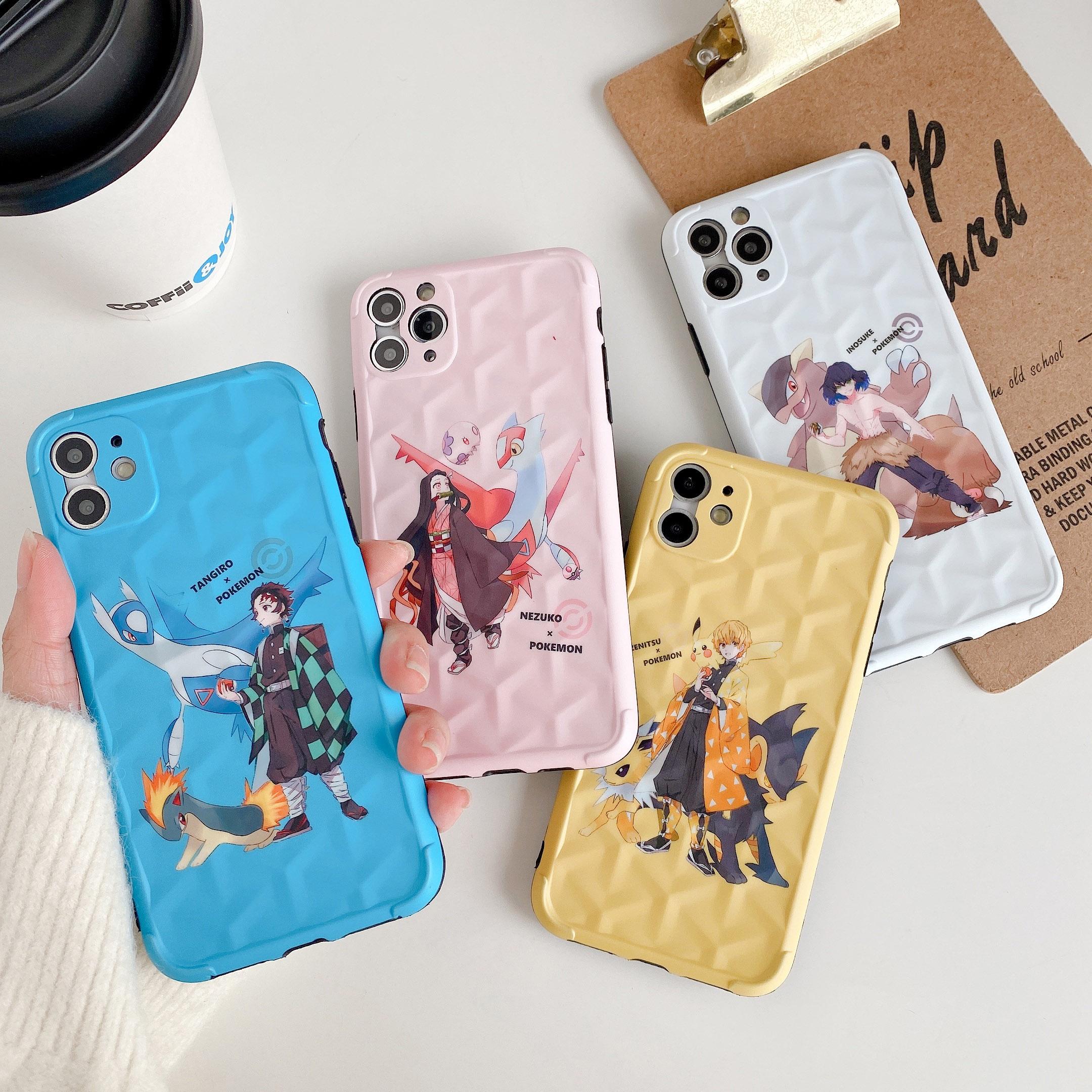 เคสโทรศัพท์ ดาบพิฆาตอสูร เคส iphone 11 pro xs max xr i8 7 plus เคสไอโฟน7พลัส se2020 kimetsu no yaiba