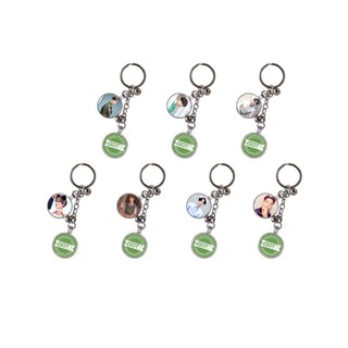 Double Sided Chicken Run Keyring