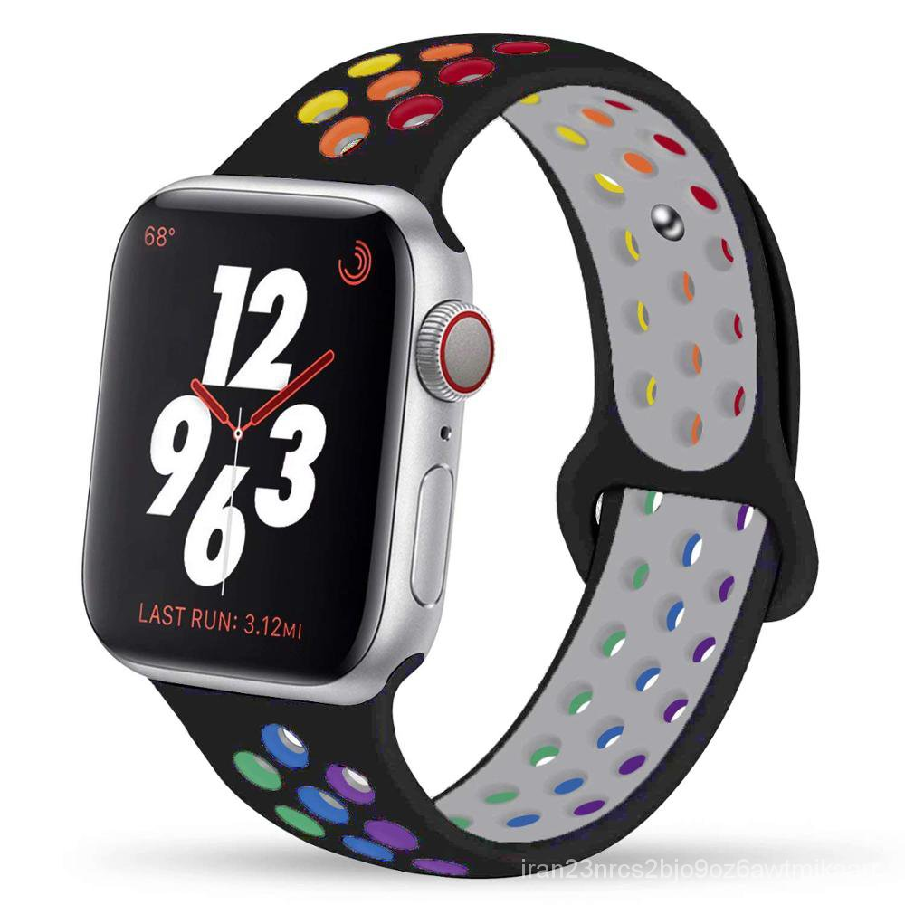 Pride Edition Strap For apple watch band 44mm 40mm 42mm 38mm silicone for iwatch bracelet for apple watch series 5 4 3 S