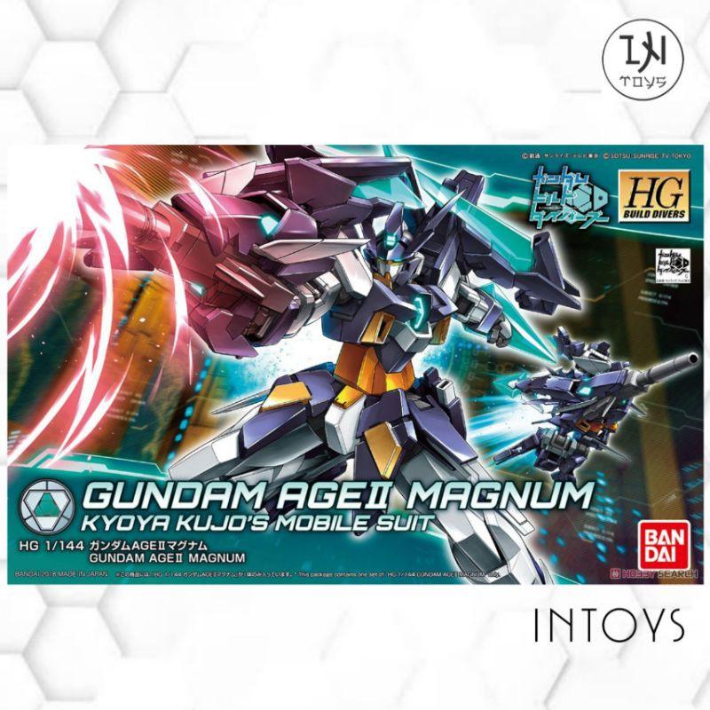 BANDAI -  (HG) GUNDAM AGE II MAGNUM  (Gundam Model Kits)