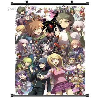 New Danganronpa V3 Anime Wall Art Home Decoration Scroll Poster