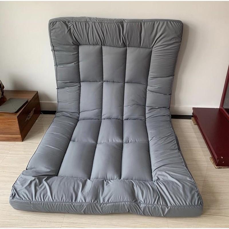 Enjoysleeping Topper ที่นอน เบาะรองนอน ที่รองนอน  ท็อปเปอร์ ที่นอนเพิ่มความนุ่ม ที่นอนปิคนิค Topper 6ฟุต 5ฟุต 3.5ฟุต 2zR