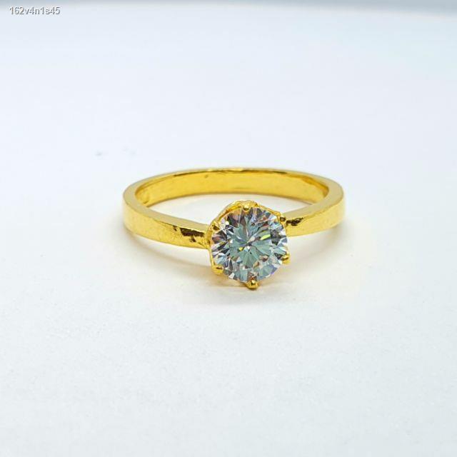 ราคาต่ำสุด◆แหวนทองแท้96.5% ครึ่งสลึง