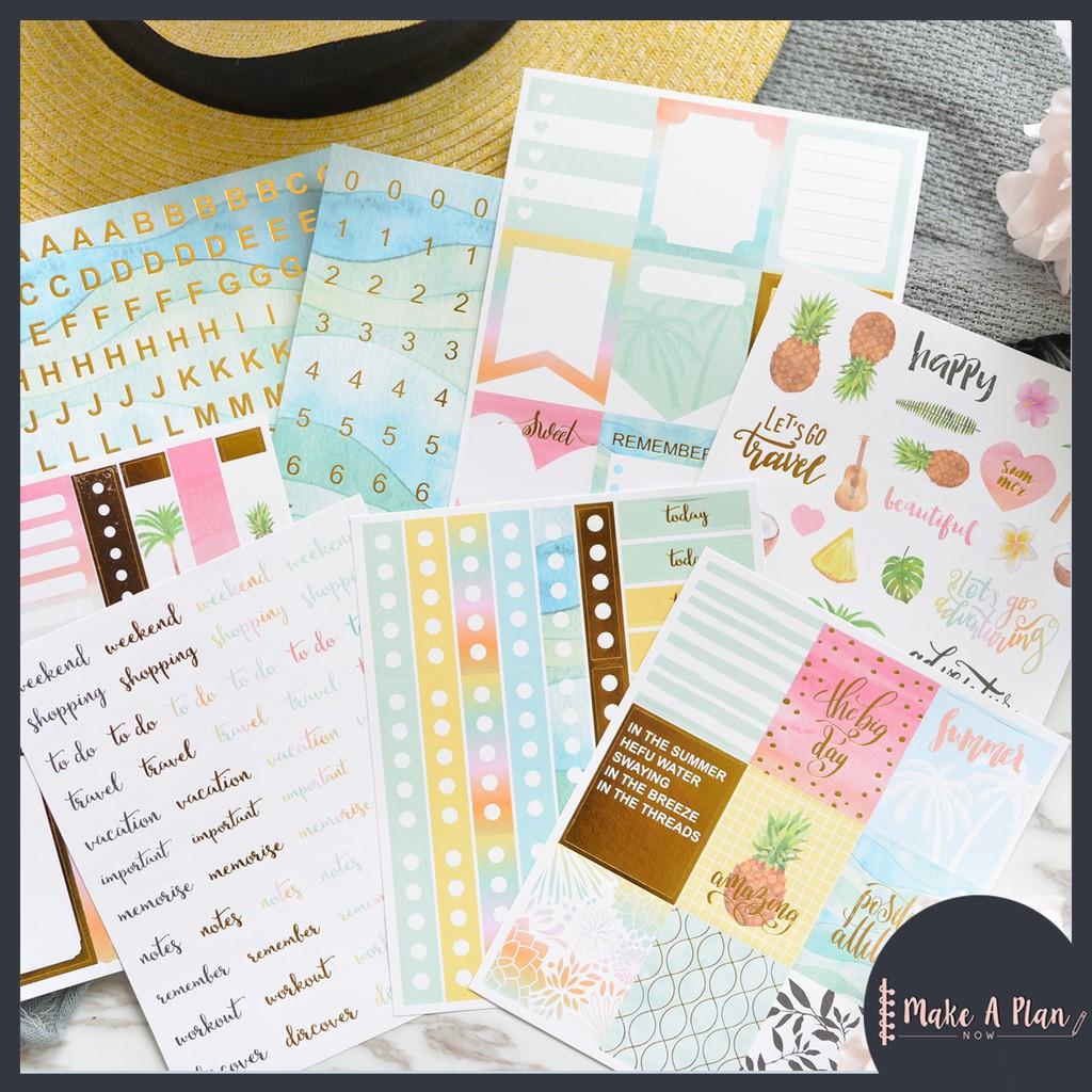 6  Queen Bee stickers for planners /& scrapbooks